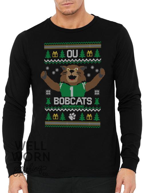 WWCC Bobcats Ugly Christmas Tee