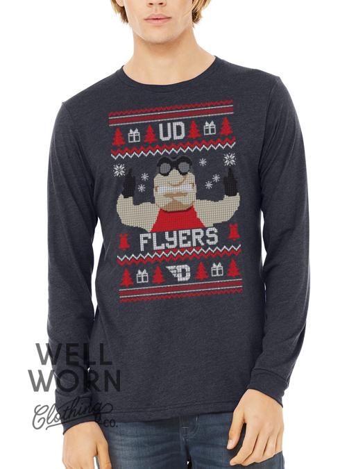 WWCC Flyer Ugly Christmas Tee