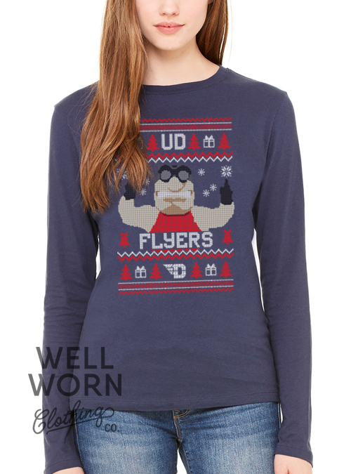 WWCC Flyers Ugly Christmas Tee