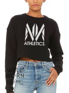 No Name Athletics Crop Sweatshirt