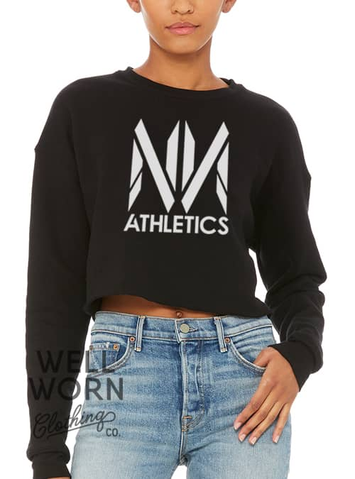 No Name Athletics Crop Sweatshirt