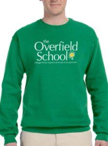 Overfield School Green Sweatshirt