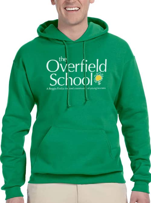 Overfield School Green Hoodie
