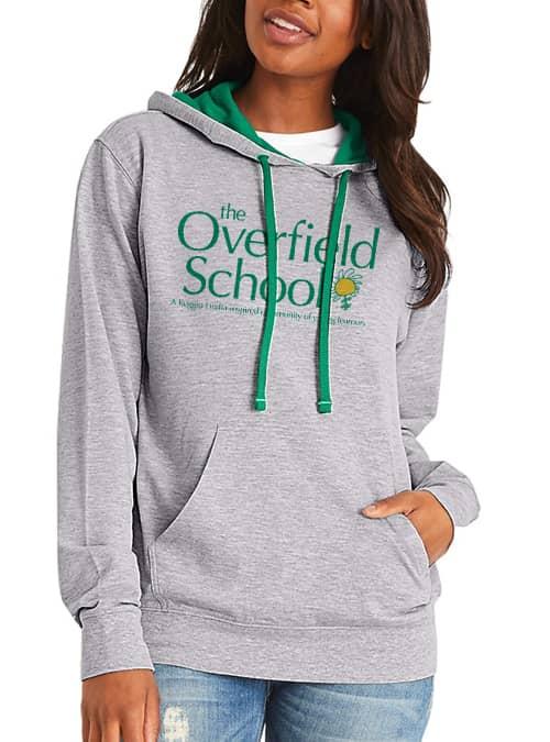 Overfield School Gray Hoodie
