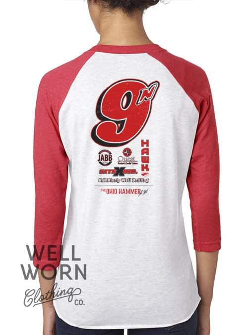 Luke Hall Racing 9n Tee | Well Worn Clothing Co.